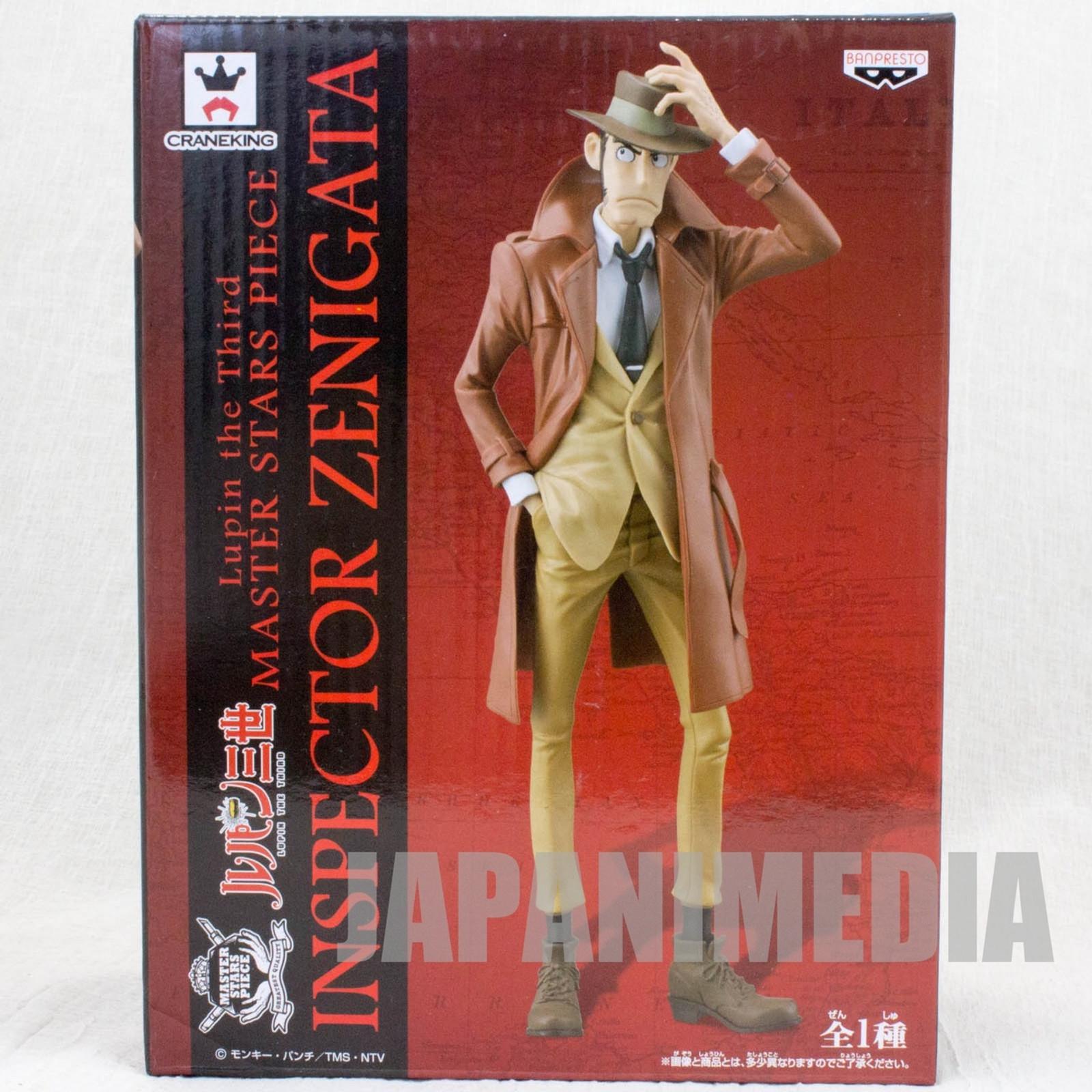 Lupin the 3rd Third Inspector Zenigata Figure Master Star Piece JAPAN ANIME