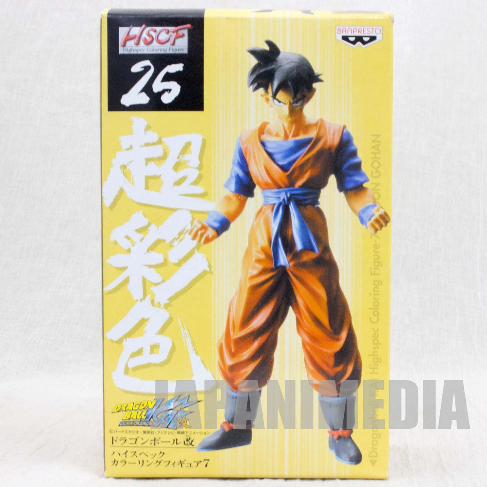 RARE! Dragon Ball HSCF Figure high spec coloring #25 Youth Son Gohan JAPAN ANIME