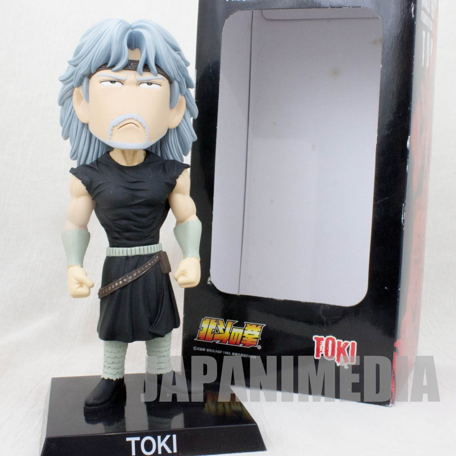 "Fist of the North Star TOKI Bobbing Bobble Head Figure 9"" Hokuto no Ken JAPAN"