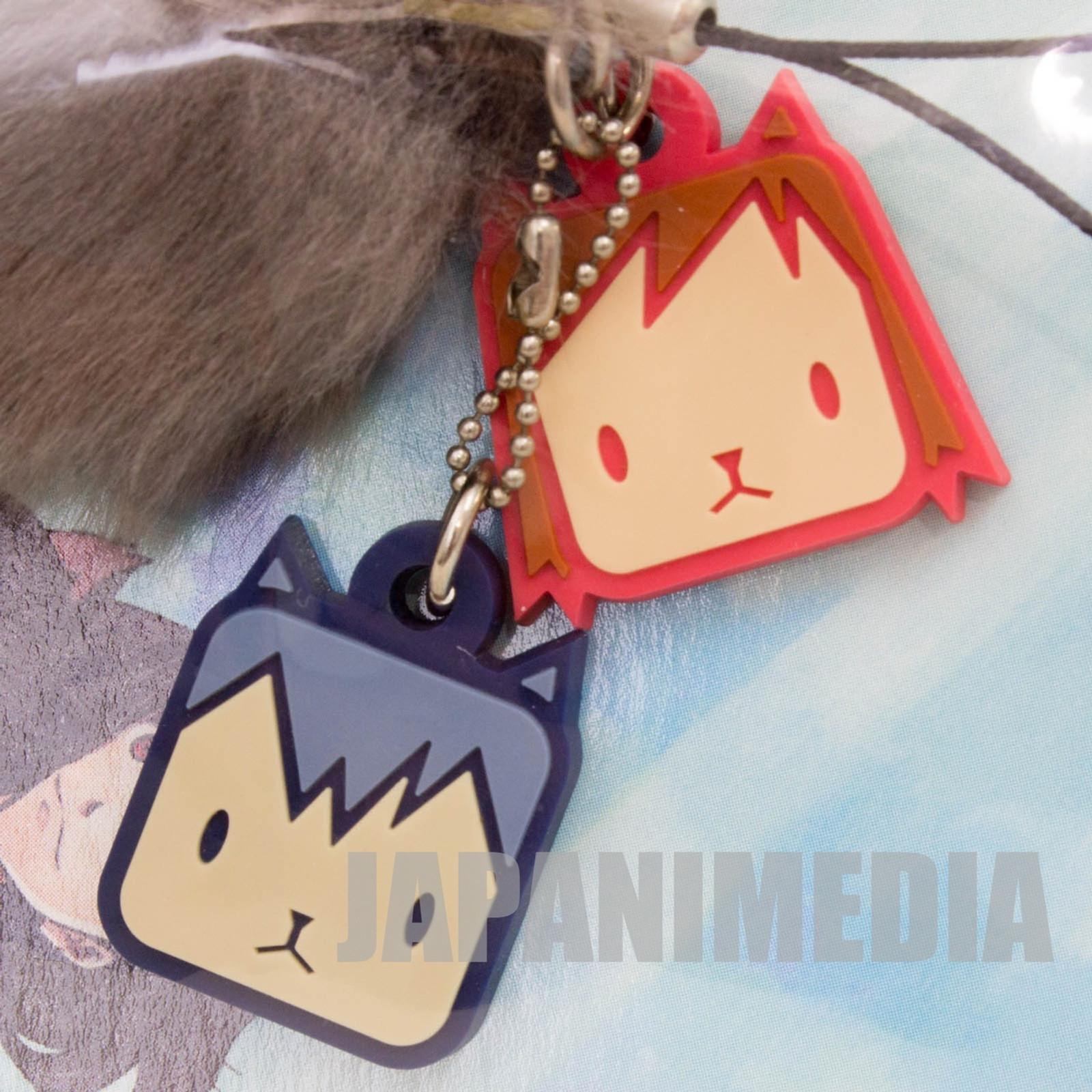 Wolf Children AME YUKI Mascot Strap JAPAN Ookami Kodomo HOSODA MAMORU