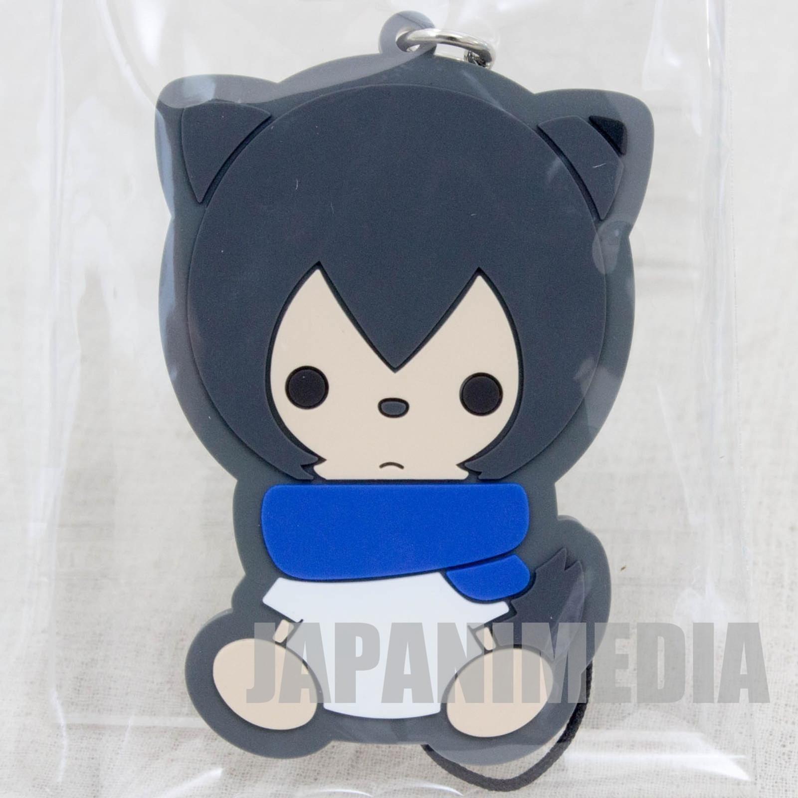 Wolf Children Ame&Yuki AME Mascot Rubber Strap JAPAN Ookami Kodomo JAPAN ANIME