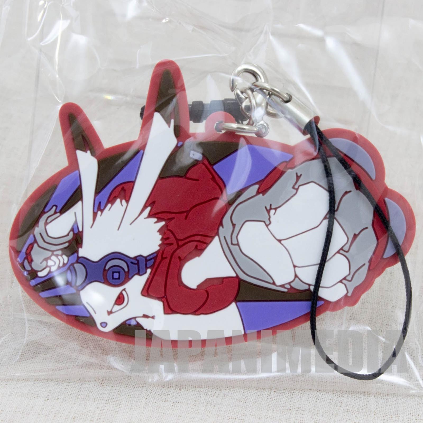 Summer Wars King Kazuma Mascot Rubber Strap JAPAN ANIME