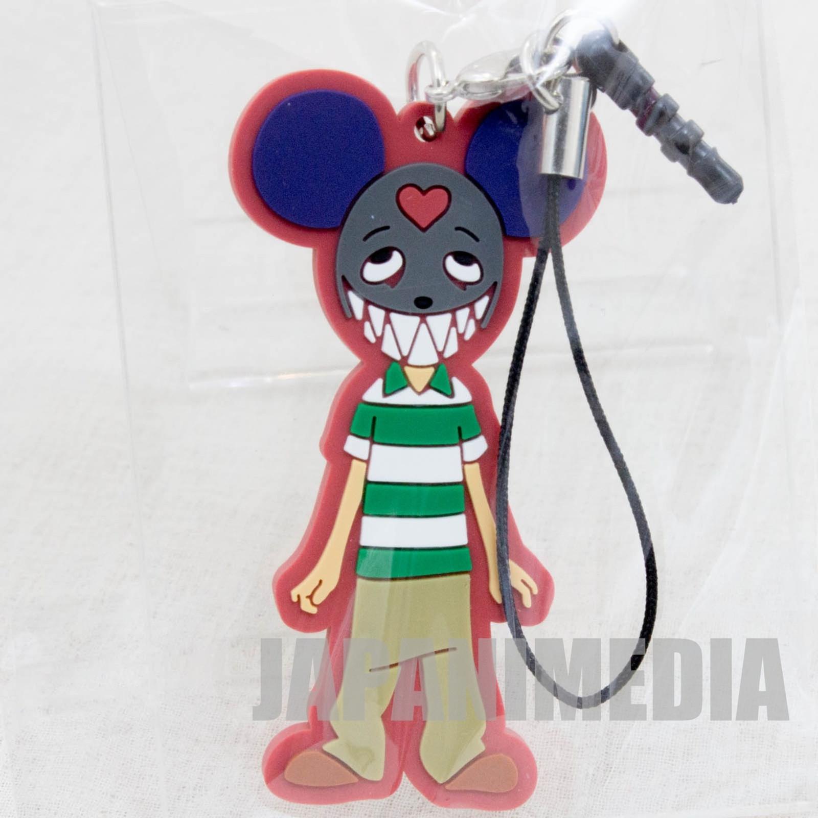 Summer Wars Kenji Ver.2 Mascot Rubber Strap JAPAN ANIME