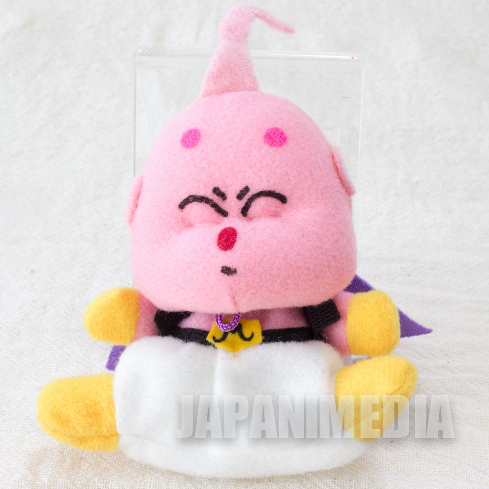 """Dragon Ball Z Majin Buu Mini Plush Doll 3"""" Keychain Banpresto JAPAN ANIME"""