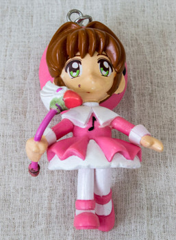 "Cardcaptor Sakura Battle Costume A Mascot Figure 3"" Keychain Clamp JAPAN ANIME"