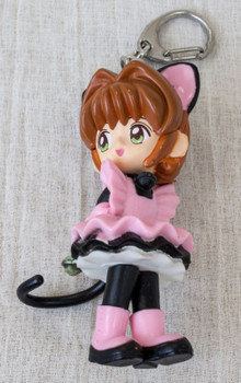 "Cardcaptor Sakura Battle Costume C Mascot Figure 3"" Keychain Clamp JAPAN ANIME"