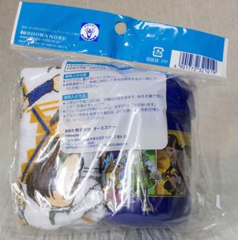 Blue Dragon Wet Wipe Towel & Case Lunch Series JAPAN ANIME MANGA OSHIBORI