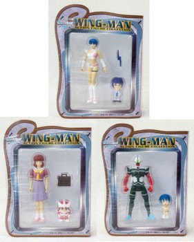 Set of 3  WINGMAN Action Figure Collection Banpresto JAPAN ANIME MANGA