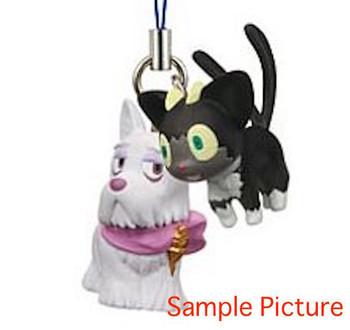Blue Exorcist Mephisto Dog Kuro Mascot Figure Strap Cait Sith Cat JAPAN ANIME MANGA