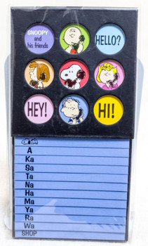 Snoopy and His Friends Telephone List Book Peanuts JAPAN ANIME