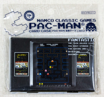 PAC-MAN Table Game Type Card Case Namco Classic Games Banpresto JAPAN BANDAI