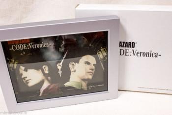 RARE! Biohazard Code:Veronica- Limited Picture Clock Capcom JAPAN RESIDENT EVIL