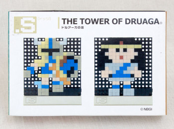 RARE! The Tower of Druaga Dots .S Puzzle Pin Panel Toy Tomytec JAPAN FAMICOM