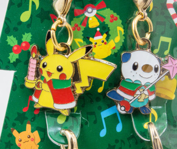 RARE!! Pokemon Center Metal Charm Christmas Tree 2010 Pikachu JAPAN ANIME MANGA