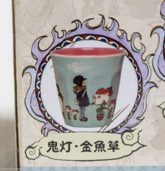 Hoozuki no Reitetsu Melamine Art Cup Goldfish Grass Ver. Taito JAPAN ANIME MANGA