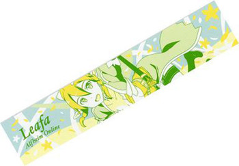 "Sword Art Online Leafa Long Towel 38"" Banpresto JAPAN ANIME MANGA SAO Alfheim"