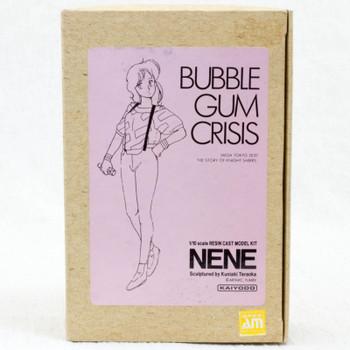 Bubble Gum Crisis Nene 1/10 Scale Resin Cast Model Kit Figure Kaiyodo JAPAN