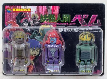 Humanoid Monster Bem Bella Belo Kubrick Set Figure Medicom Toy JAPAN ANIME MANGA