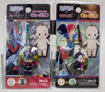 Set of 2 Mazinger Z Rose O'neill Kewpie Kewsion Strap JAPAN ANIME