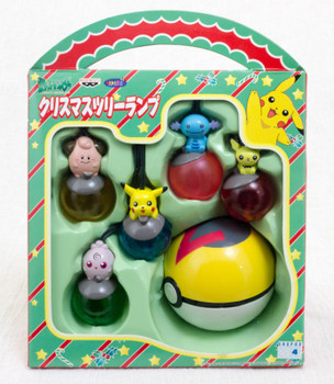 Pokemon Pikachu Figure Christmas tree Lump Set JAPAN ANIME MANGA POCKET MONSTER