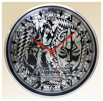 JoJo's Bizarre Adventure Full Metal Wall Clock Part.2 Jonathan Dio JAPAN ANIME