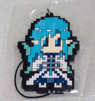 Sword Art Online SAO Asuna Dot picture Rubber Strap Ichiban Kuji JAPAN ANIME
