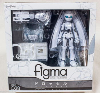 Disney DROSSEL Fireball Figma No.038 Action Figure Max Factory JAPAN ANIME