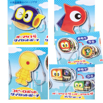 Set of 5 PAAMAN Mini Pouch Bag Complete Set TAKARA TOMY JAPAN ANIME FUJIKO FUJIO