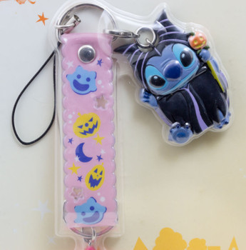 Disney Stitch Mobile Strap Halloween Ver. Mascot Figure Banpresto 3 JAPAN ANIME