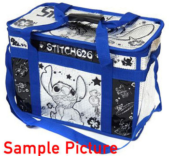 Disney Stitch 626 Premium Cooler Bags H29xW39cm SEGA JAPAN ANIME