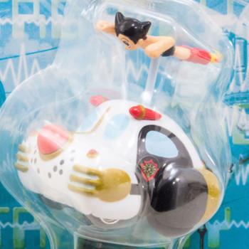 Astro Boy Atom Metro City Patrol Car Pull-Back Choro Q Figure JAPAN
