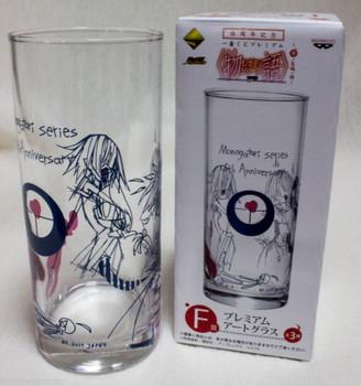 Bakemonogatari Nisemonogatari Premium Art Glass 5th Anniversary 2 JAPAN ANIME