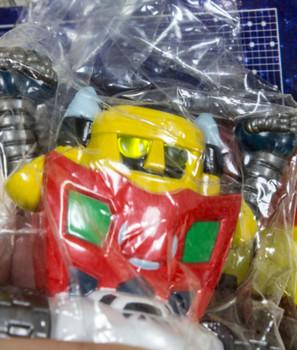 Getter Robo #3 Dynamic Robo Light Key Holder Chain JAPAN ANIME MANGA NAGAI GO