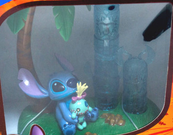 Disney Stitch Mascot Figure Totem pole Light SEGA JAPAN ANIME