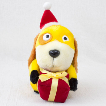 Perrine Stroy Santa Costume Baron Dog Mini Plush Doll Figure JAPAN