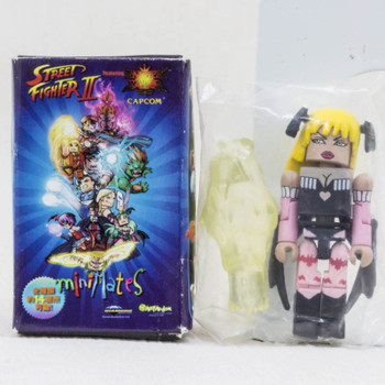 Street Fighter II 2 Vampire Savior Morrigan Blond Mini Mates Figure Capcom JAPAN