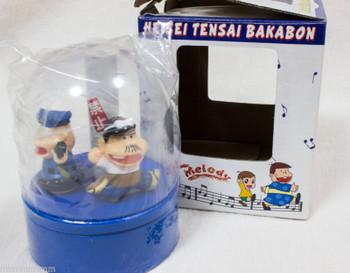 Genius Tensai Bakabon Figure Music Box Fujio Akatsuka JAPAN ANIME MANGA