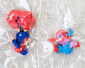 Nintendo Dotgraphics Balloon Fight Figure with Game Sound JAPAN NES