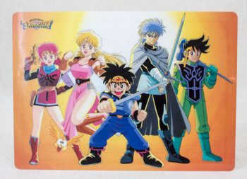 Dai no Daibouken Adventure Plastic Pencil Board Pad Shitajiki Dragon Quest JAPAN