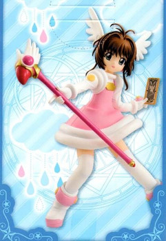 Cardcaptor Sakura Special Figure Series Cheerful Pink Furyu JAPAN ANIME CLAMP