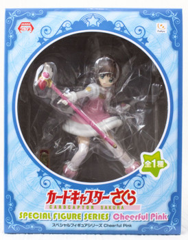 Cardcaptor Sakura Special Figure Series Cheerful Pink Furyu JAPAN ANIME CLAMP