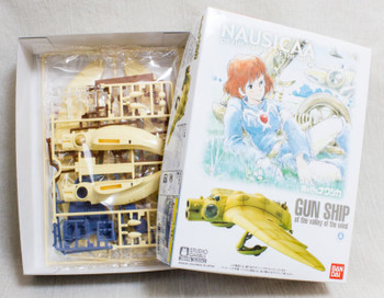 Nausicaa of Valley of Wind GUN SHIP Plastic Model Kit Figure Ghibli JAPAN ANIME