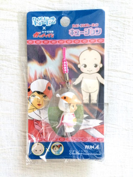 Set of 4 Gatchaman Rose O'neill Kewpie Kewsion Strap JAPAN ANIME MANGA