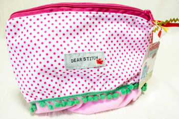 Disney Dear Stitch Pen Case Pouch Mini Bag Sun Star JAPAN ANIME