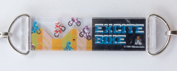 Nintendo DotGraphics Famicom Figure Strap EXCITE BIKE Ver. JAPAN GAME NES