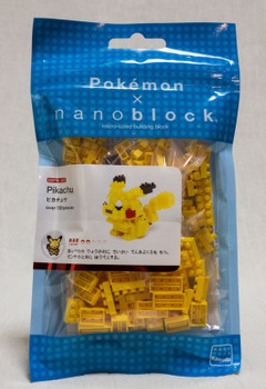 Pokemon Pikachu Kawada Nanoblock Nano Block NBPM-001 JAPAN ANIME FIGURE
