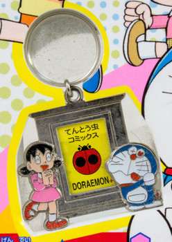 Doraemon Keychain with mini Photo frame Limited JAPAN ANIME MANGA FUJIO