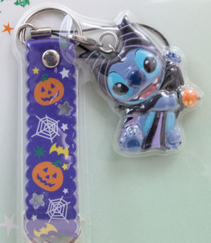 Disney Stitch Mobile Strap Halloween Ver. Mascot Figure Banpresto 2 JAPAN ANIME