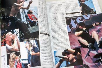2002 Vol.8 BASTARDS! BURRN! Japan Magazine OZZFEST/SUMMER SONIC 02/SOULFLY