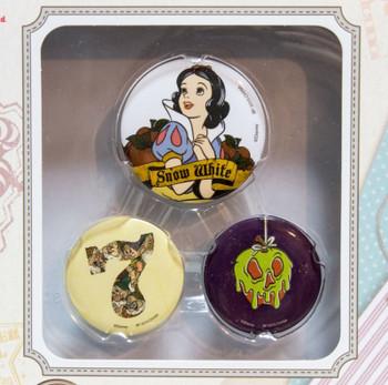 Disney Snow White All Stars Collection Badge set Ichiban Kuji Banpresto JAPAN
